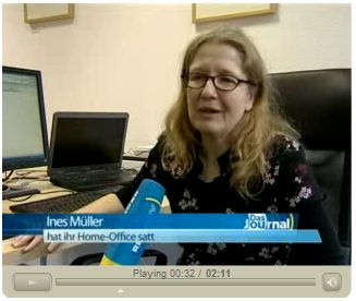 Regio TV: Büro auf Zeit
